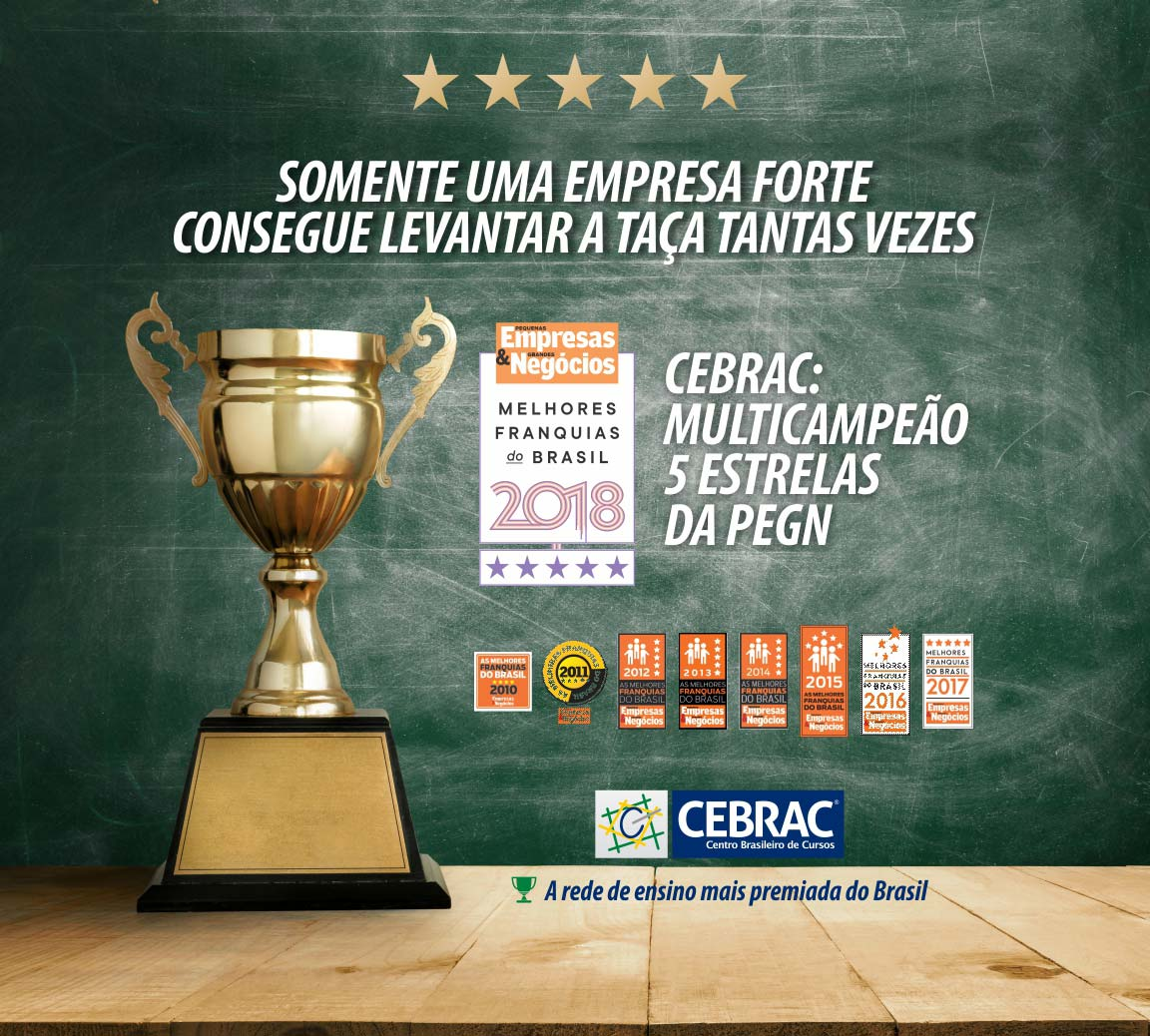 CEBRAC Campeão PEGN