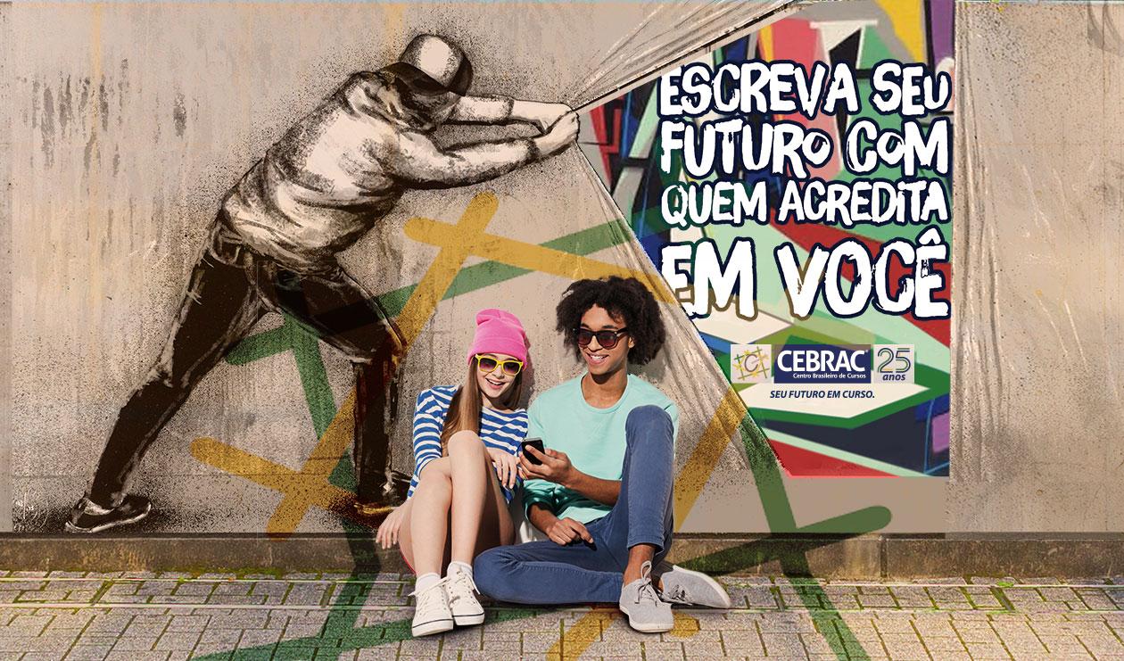 Escreva seu futuro com quem acredita em você